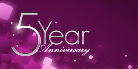 Happy 5 Year Anniversary Jaima Knutson, Rapid City, South Dakota