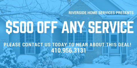 $500 OFF ANY SERVICE, 7, Maryland