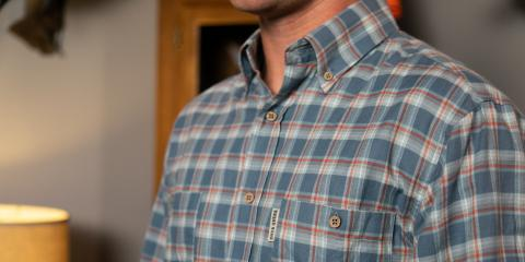 How to Style Flannel Button-Down Shirts, Jacksonville East, Florida