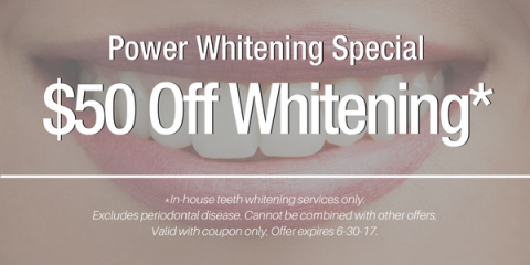 $50 Off Teeth Whitening, Anchorage, Alaska
