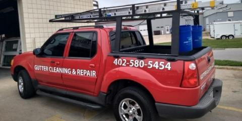 Gutter Cleaning & Repairs, Gutter & Downspout Cleaning, Shopping, Lincoln, Nebraska
