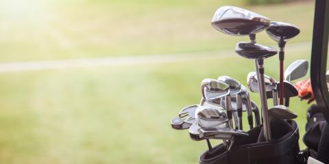 7 Items in a Complete Set of Golf Clubs, Manhattan, New York