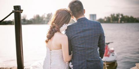 3 Dress Codes for a Yacht Wedding, Berkeley, California