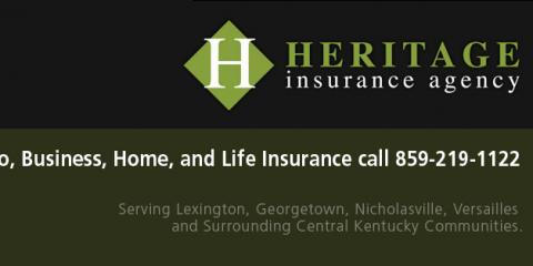 Heritage Insurance Agency, Insurance Agencies, Services, Lexington, Kentucky