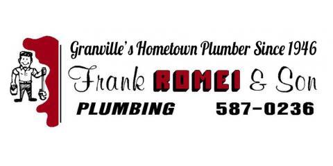 Frank Romei & Sons, Plumbing, Services, Granville, Ohio