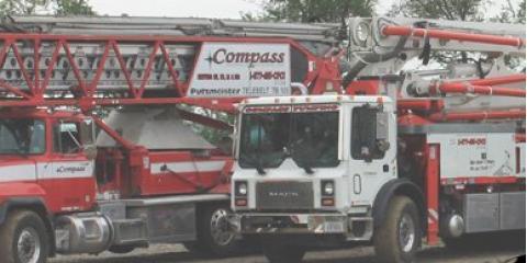 Compass Pumping & Conveying Inc., Concrete Pumping Service, Services, Falls City, Nebraska