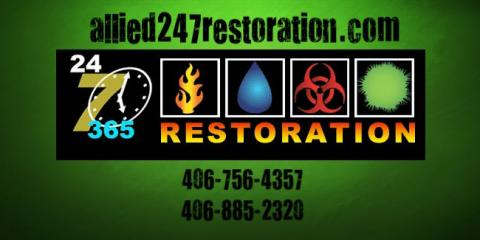 Allied 24/7 Restoration, Mold Testing and Remediation, Services, Kalispell, Montana