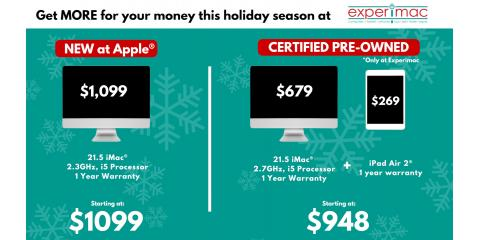 How to SAVE BIG on your Apple purchases this Holiday. , King of Prussia, Pennsylvania