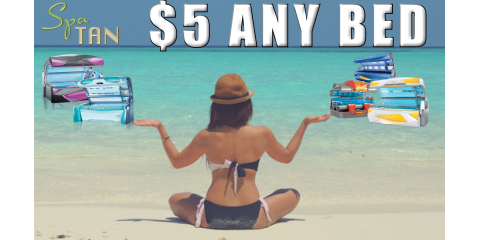 Enjoy $5 Tanning Bed Sessions at Spa TAN, Chesterfield, Missouri