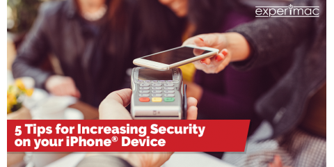 5 Tips for Increasing Security on your iPhone® Device, ,