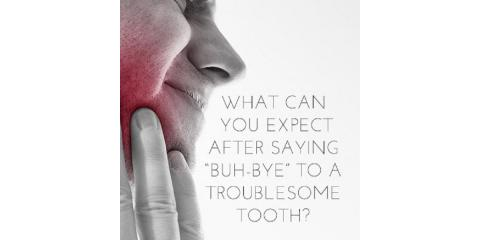 What to expect after a tooth extraction, Lewisburg, Pennsylvania