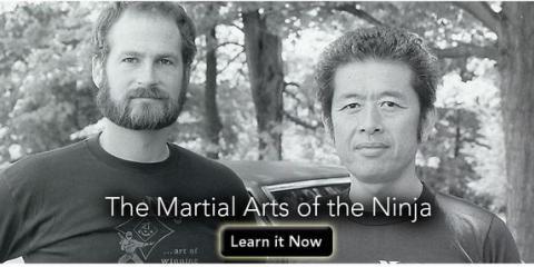 Live film set: To-Shin Do Ninja Martial Arts, Manhattan, New York