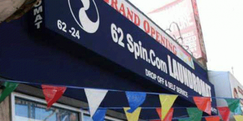62 Spin Laundromat, Dry Cleaning, Services, Woodside, New York