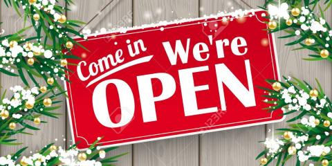 We Are Opened This Sunday for the upcoming holiday!, Middleton, Massachusetts
