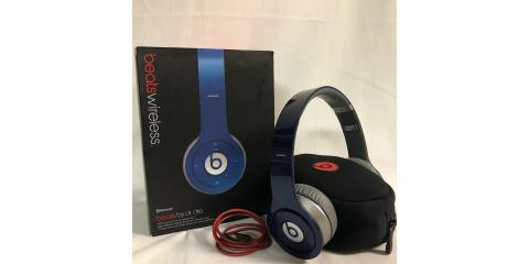 BEATS BY DR. DRE WIRELESS BLUE HEADPHONE 810-00012-00, Tampa, Florida