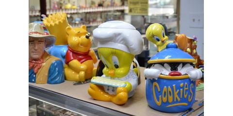 20% off marked price on all new cookie jars!, Streetsboro, Ohio
