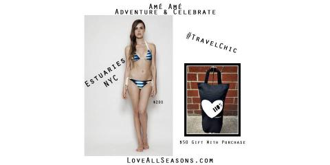 Get a $50 Tote Bag With Any New Estuaries Swimwear Purchase, Manhattan, New York