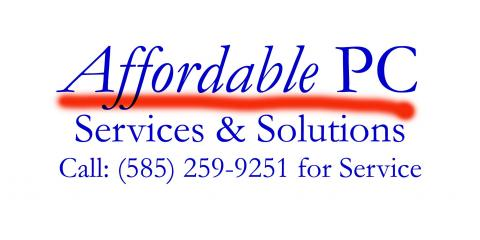 Affordable PC Services And Solutions, Computers, Shopping, West Henrietta, New York