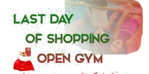 Last Day of Shopping Open Gym Christmas ( Plus Pre sign up gift), Greece, New York