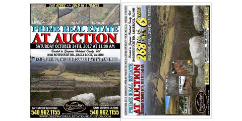 This is one sale you don't want to miss!! Prime Real Estate in Botetourt County, Covington, Virginia