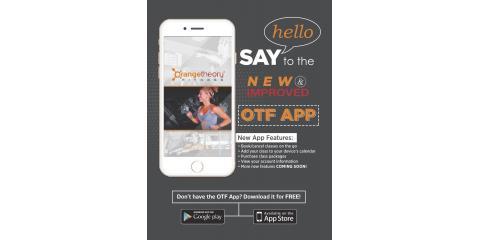 New App from Orangetheory Fitness, Thousand Oaks, California