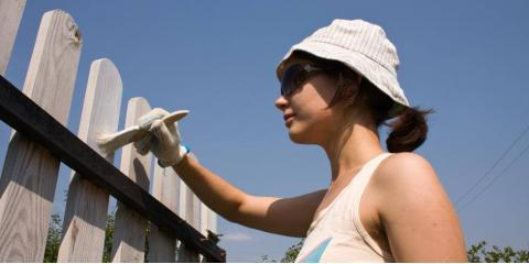 Do's & Don'ts of Painting a Wood Fence, Columbia, Missouri