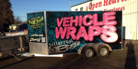 3 Vehicle Wrap Design Tips From Bitterroot Screen Printers, Kalispell, Montana