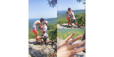 #WeddingWednesdayis here and we're celebrating Dustin and Haley!!!, Gibsonville, North Carolina