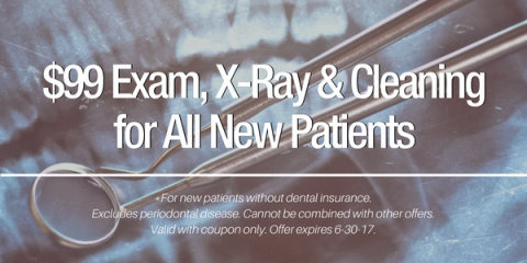 $99 Exam, X-Ray & Cleaning for New Patients, Anchorage, Alaska