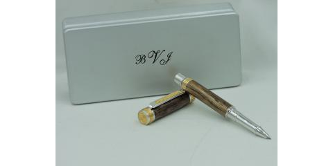 The Story of a Custom Pen Forged From a Childhood Tree, Overland Park, Kansas