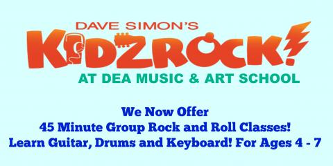 KidzRock at DEA! *Limited Time Offer* $85, New York, New York