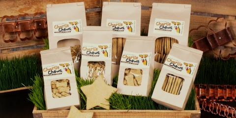 Charlie Chews Introduces Delicious All-Natural Dog Treats For Vegan Pups!, Manhattan, New York