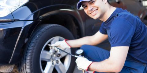 What Is the Correct Pressure Level for Your Tires?, Russellville, Arkansas