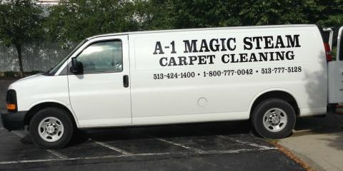 A-1 Magic Steam Carpet Cleaning, Carpet Cleaning, Services, West Chester, Ohio