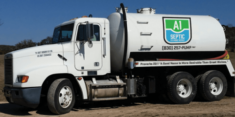 A1 Septic Cleaning Service, Septic Tank Cleaning, Services, Harper, Texas