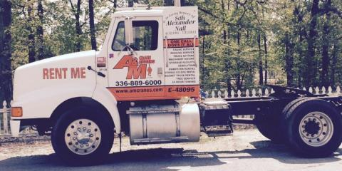 For All Your Crane Service And Towing Needs, Call A&M Crane and Rigging, High Point, North Carolina