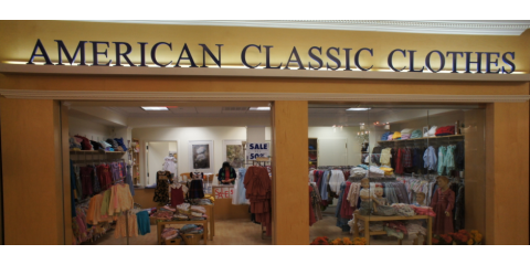 Get an Early Start on Kids' Clothes Shopping For Fall at American Classic Clothes, Potomac, Maryland