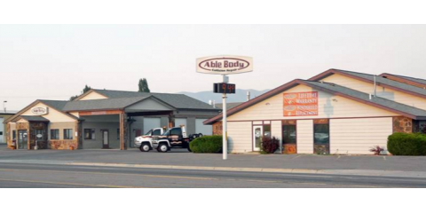 Able Body Shop Inc. , Auto Body, Services, Kalispell, Montana
