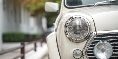 Dinged Your Classic Car? Why Paintless Dent Removal Is Your Best Option, Ogden, Utah
