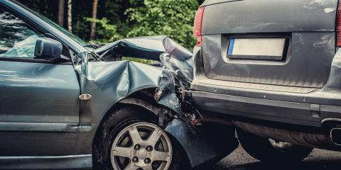 5 Most Common Causes of Automotive Accidents, Madison, Wisconsin