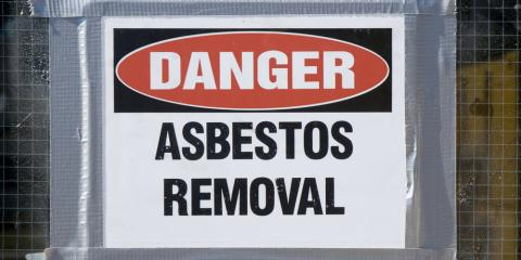 Why Professional Asbestos Removal Is So Crucial, Fairfax, Ohio