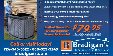 IT'S AIR CONDITIONER TUNE UP TIME !!, Kittanning, Pennsylvania