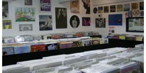 Search Through Unique Album Artwork At Academy Record, Manhattan, New York