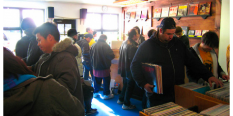 Thousands of New, Rare Records at Academy Records , Manhattan, New York