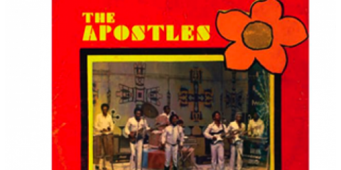 Exclusive Record by The Apostles on Sale at Academy Records, Manhattan, New York