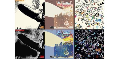 Pick Up Led Zeppelin's Rereleased Albums This Summer at Academy Records Annex, Brooklyn, New York