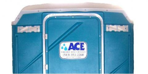Portable Toilet Rental Services For Major Events From Ace Sanitation Service, Cleves, Ohio