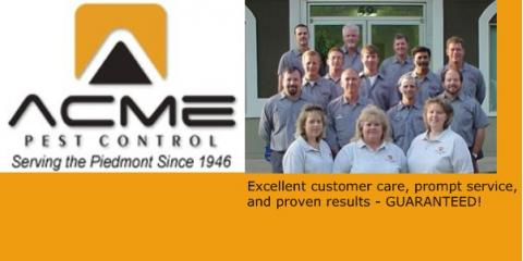 Acme Pest Control Company, Pest Control, Services, Concord, North Carolina