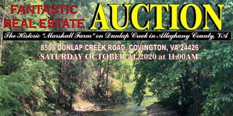 History at Auction, Covington, Virginia