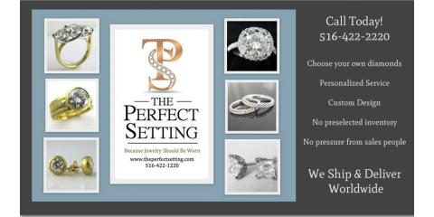 The Perfect Setting, Custom Jewelry, Shopping, New York, New York